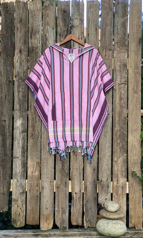 Adult Poncho Top Corales