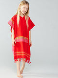 Kid's African Sunset Ponchito /Adult Top
