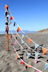 beach bungalow bunting