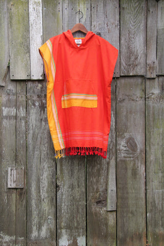 Kid's Sunrise Poncho / Adult Top