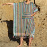 Marlin Ray surf and changing ponchos with hood are essential beach adventure gear. Surf poncho