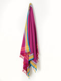 Plum African Beach Towel