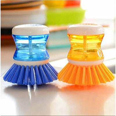 Self Dispensing Cleaning Brush