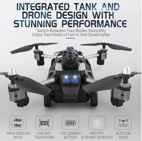 Hovertank - Tank/Quadcopter Hybrid