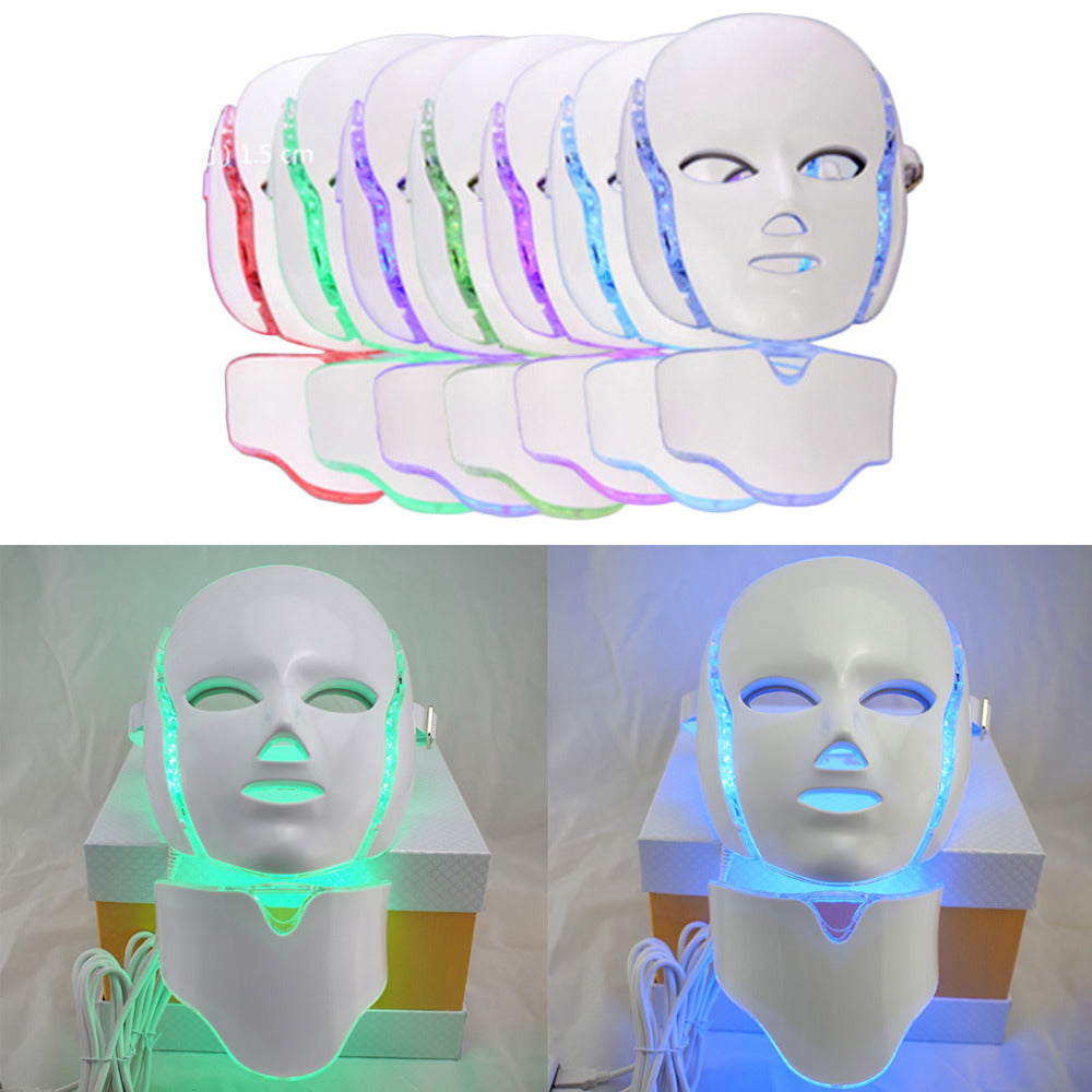 LED Light Therapy Acne Face Mask