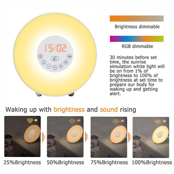 Ambient Sunrise Alarm Clock