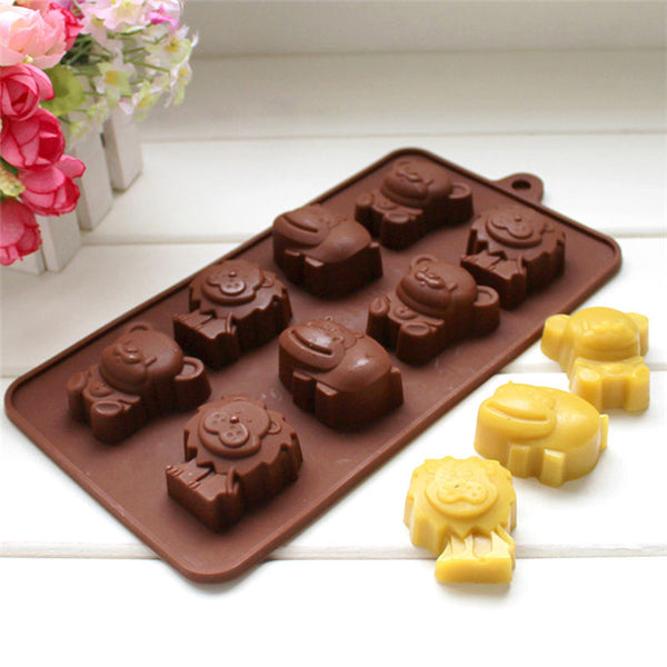 Cute Animal Baking Mold