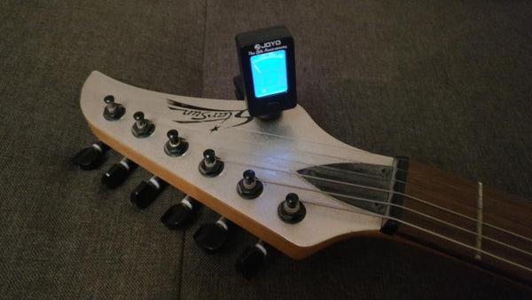 Clip-On Digital Tuner For Musical Instruments