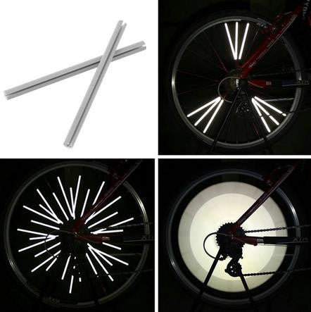 Reflective Tire Spokes