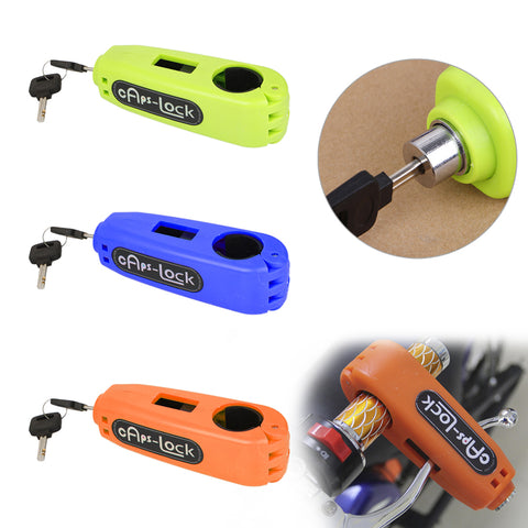 Motorcycle Handle Safety Lock