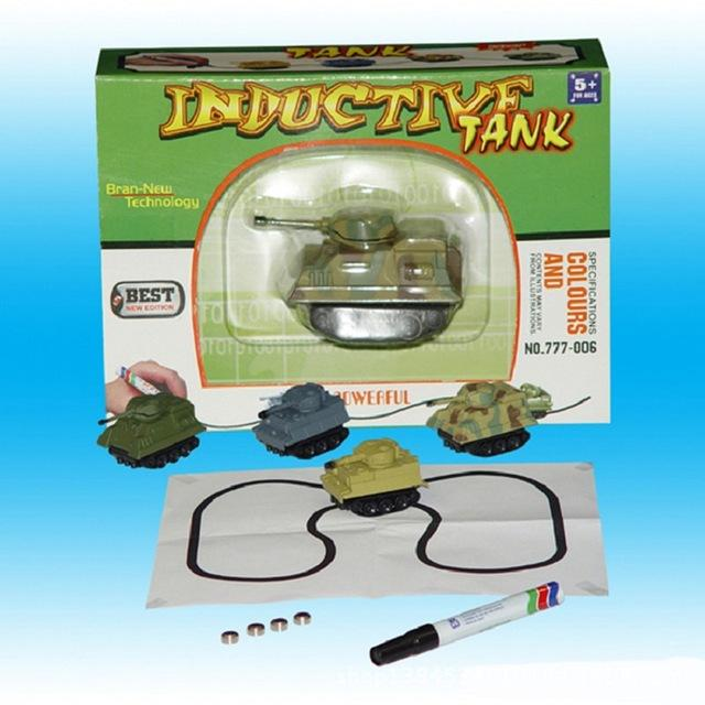 Induction Guided Toy Vehicle