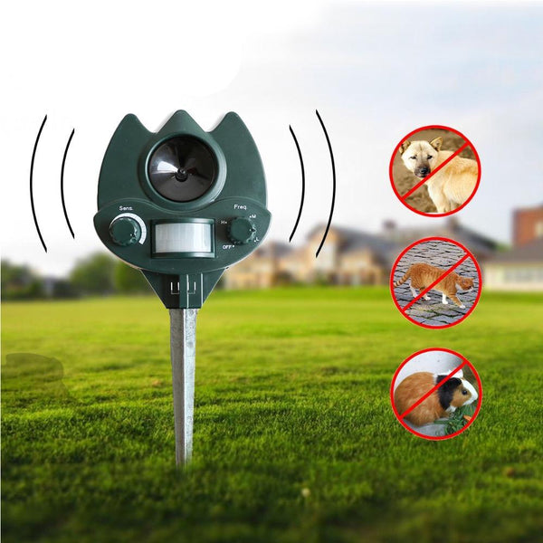 Ultrasonic Eco-Friendly Outdoor Animal Repellant