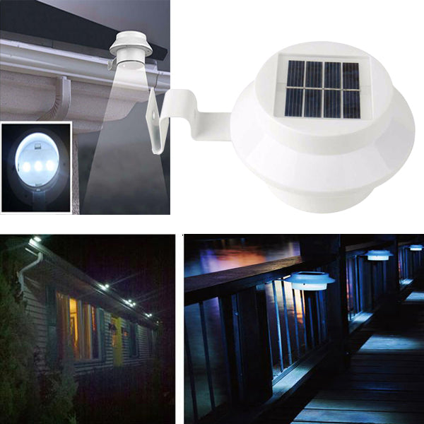 EverLight - Outdoor Solar Powered LED Lamp (5-Pack)