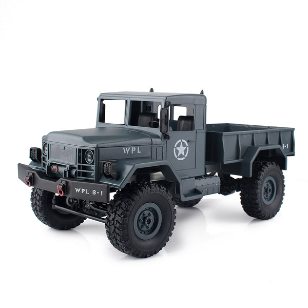 RC Military Truck Rock Crawler