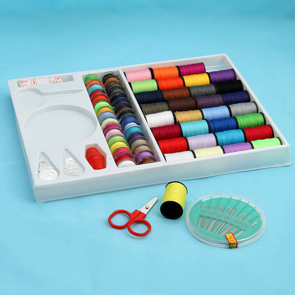 100pcs Portable Sewing Box