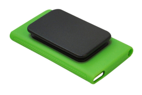Rubber Skin Case Cover with Belt Clip for iPod Nano