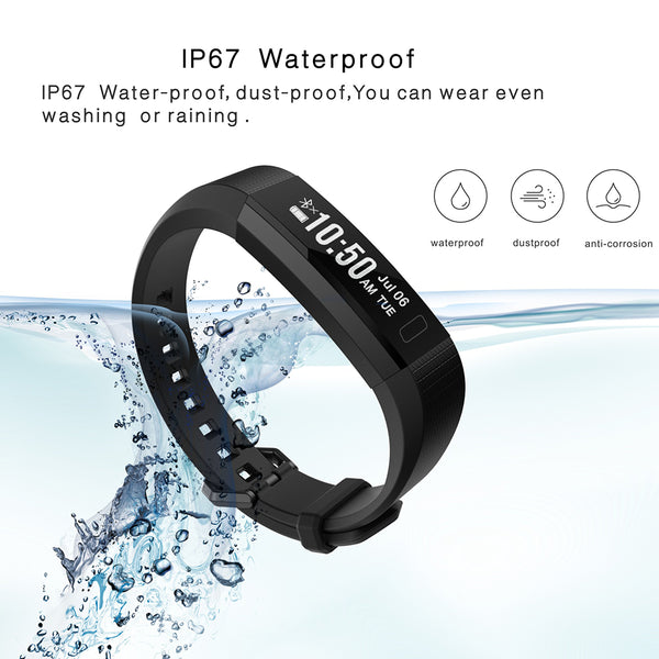 Smart Fitness Tracker Wristband