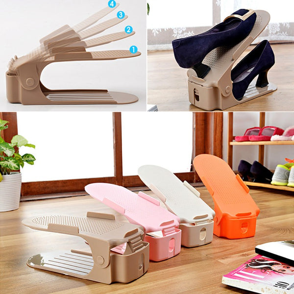 Double-Stand Shoe Rack