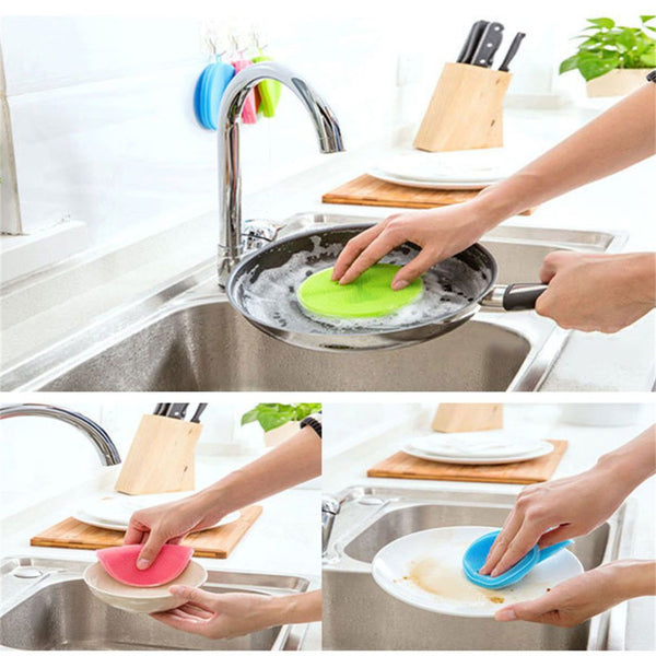 Innovative Sponge Dish Scrubber