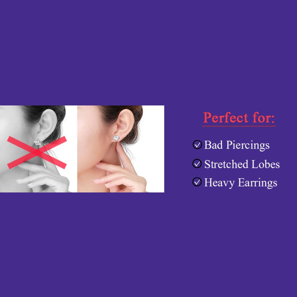 Hypoallergenic Earring Backs