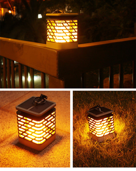 Solar LED Hanging Torch Light