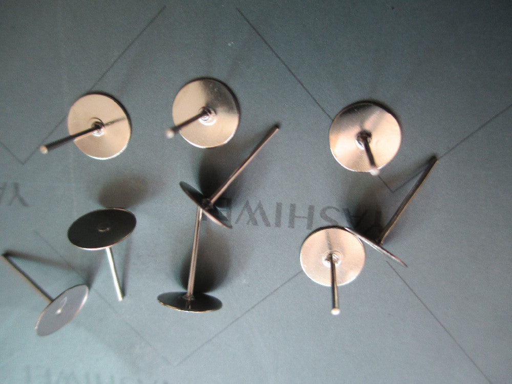 Surgical Steel Earring Backs