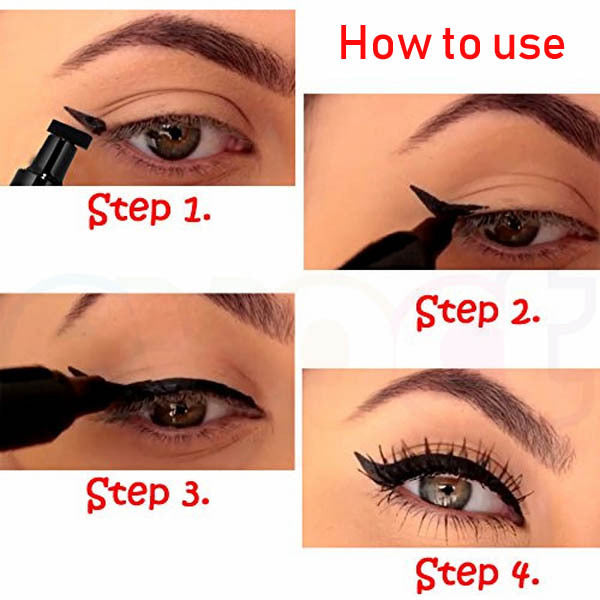 Head Wing Shape Liquid Eyeliner