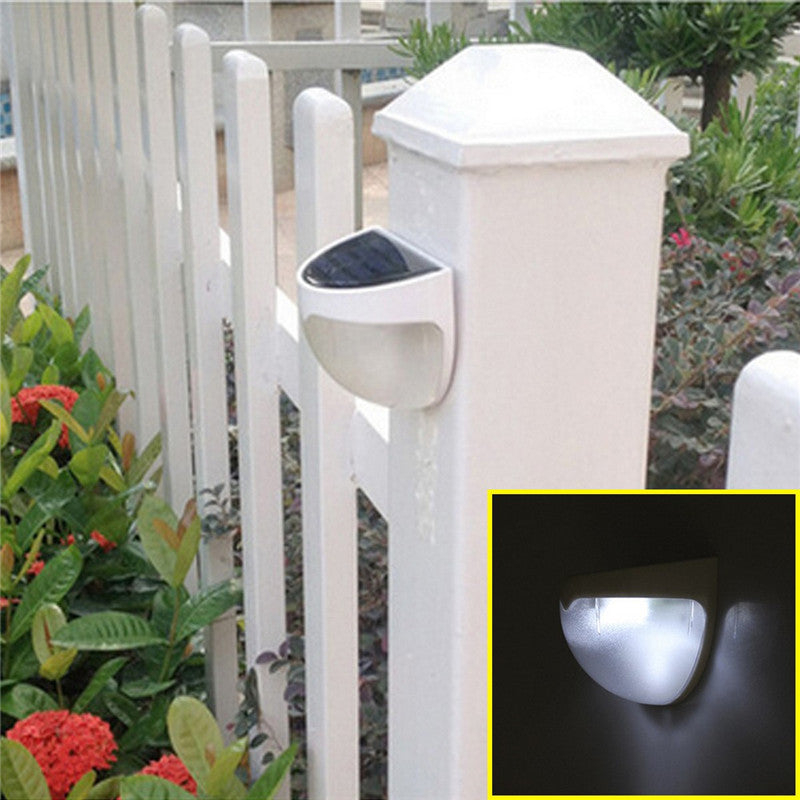 Decorative Solar LED Wall Lamp