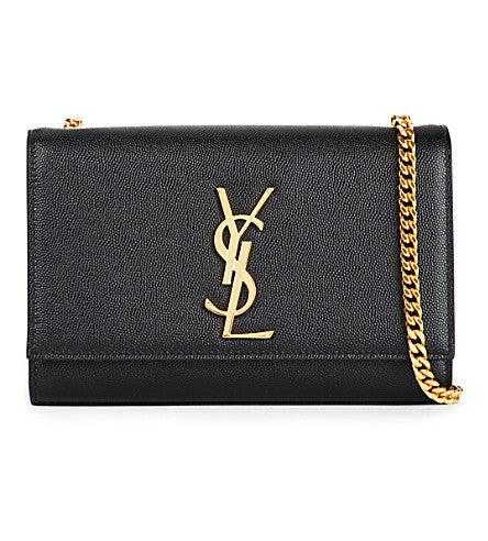 Saint Laurent Monogram Medium - Black Poudre