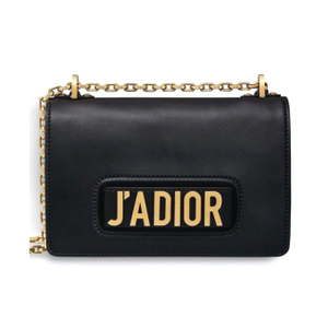 Dior J'ADIOR Flip Bag - Black