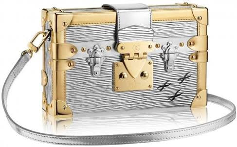 Louis Vuitton Petite Malle - Silver/Gold