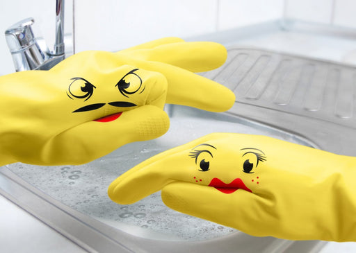 Dishwashing Glove Puppets