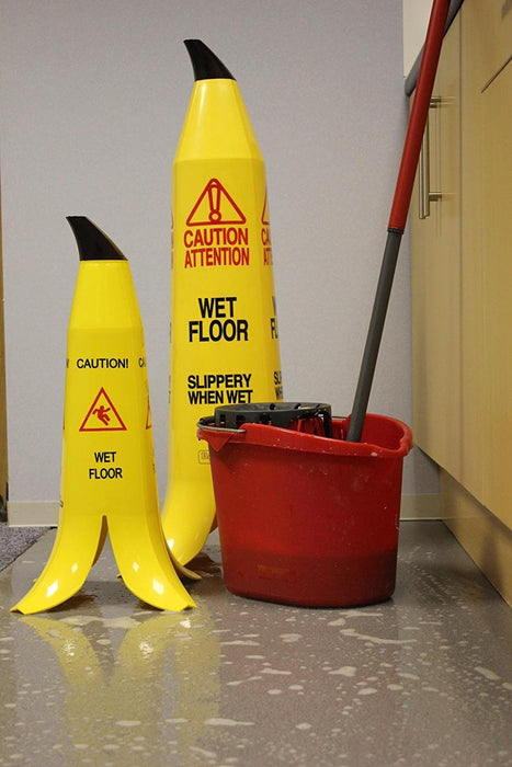 Banana Peel Safety Cone - Pack of 3
