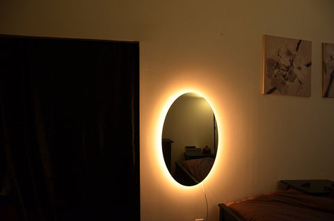 Portal led mirrors light up oval wall mirror swagasaurus rex portal led mirrors light up oval wall mirror aloadofball Image collections