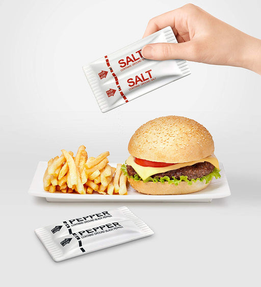 To-Go Packet Salt and Pepper Shakers