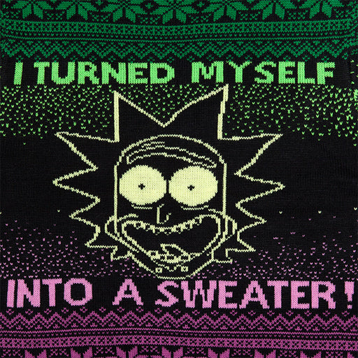 Rick and Morty I Turned Myself Into a Sweater Morty
