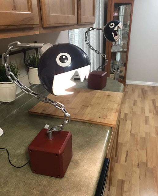 Chain Chomp Desk Lamp