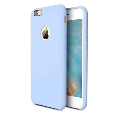 iPhone 6s Case, Liquid Silicone Rubber iPhone 6 6S Shockproof Case with Soft Microfiber Cloth Cushion