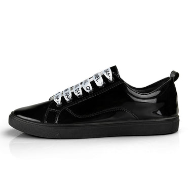 Casual Students Solid Board Shoes Men Trend of Breathable Glossy Footwear Sneakers