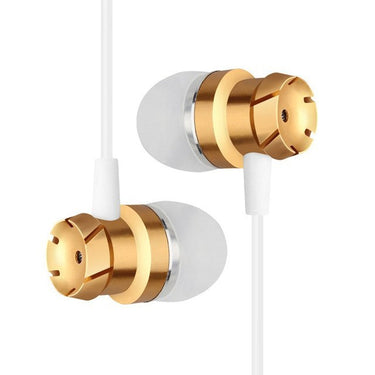 3.5mm Wired Headphones In-Ear Stereo Music Headset Smart Phone Earphone