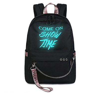 Daily Backpacks College Student Bookbags Reflective Bagpack