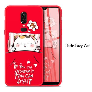 ASINA Cute Cartoon Case For Oneplus 6