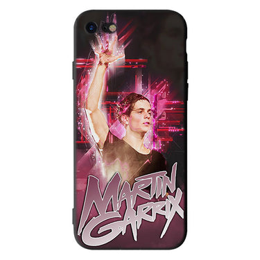 DJ Martin Garrix Soft Silicone Black Cellphone Cases for iPhone