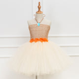 Moana Inspired Tutu Dress. Birthday Party. Moana Tutu. Handmade Tutu Dress. Moana Fancy Dress. Moana Costume. Te Fiti Moana Tutu Dress