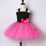 Lol Dolls Diva Birthday Party Tutu Dress - Handmade Kids LOL Costume with Large Pink Bow Headband - Tutu-Dresses.com