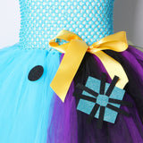 Nightmare Before Christmas Girls Tutu Dress Sally Jack Skellington Girls Halloween Carnival  Party Dress Costume for Kids 2-12Y