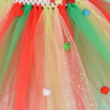 Girls Candy Lollipop Tutu Dress Kids Christmas Birthday Party Tulle Dresses Girl New Year Xmas Costume Gift 1-12Y - Tutu-Dresses.com