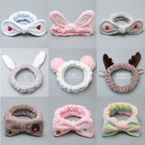 Kids Velvet Hair Band - Pink Bunny Ears, Bow Hairband, Reindeer and many more - Tutu-Dresses.com