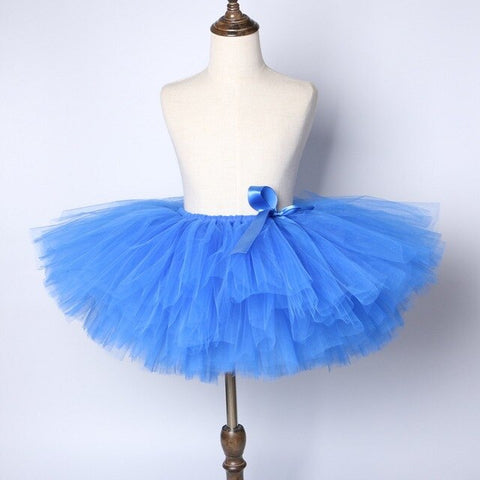 Blue Baby Girls Tutu Skirt - Ballet Dance Birthday Party or Flowers Girls Tutu Skirt - Tutu-Dresses.com