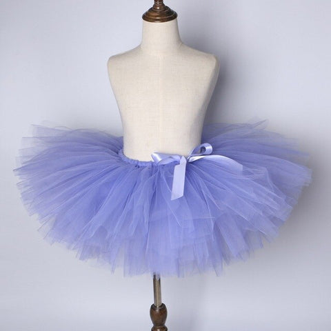 Lavender Baby Girls Tutu Skirt - Ballet Dance Tutu Birthday Party Outfit - Tutu-Dresses.com